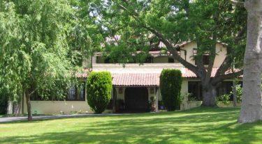 Spanish style hacienda in Surrey Farms area of Los Gatos