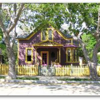 Colorful, historic home on Broadway in Los Gatos