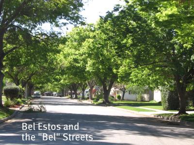 Bel Estos Drive near Carlton and Rosswood in San Jose's Cambrian area