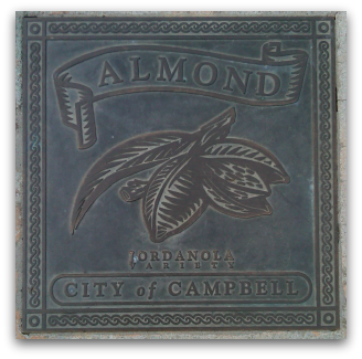 Fruit marker in Campbell - Almond