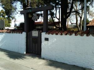 Adobe Wall in Santa Clara (Adobe Woman's Club)