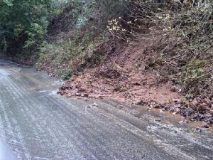 Mudslide in Los Gatos (Kennedy Road)