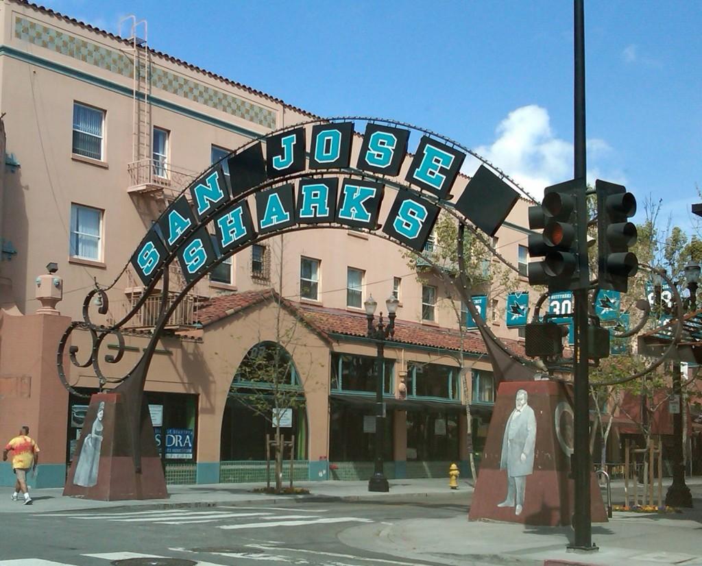 San Pedro Square - Sharks Territory!