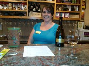 At J Lohr Wine Tasting Rooms, you can choose from available wines which ones you'd like to try