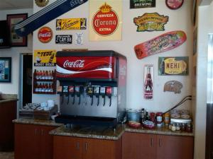 Malibu Grill beverage area
