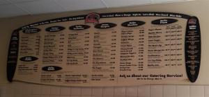 Malibu Grill in San Jose - menu