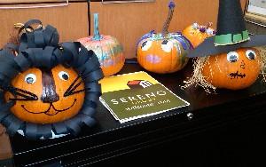 Sereno Pumpkin Decorating contest