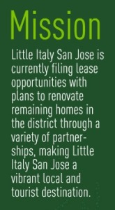 Little Italy Mission Statement