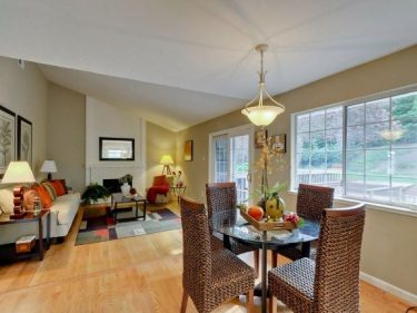 Breakfast Nook and Family Room