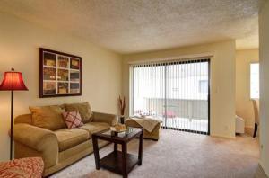 Living Room & Balcony at 966 Kiely Blvd, # D