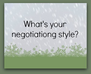 Negotiating style