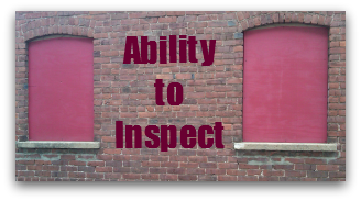 Ability to inspect