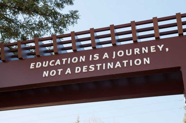 Education is a journey