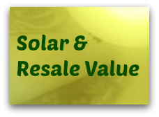Solar and resale value
