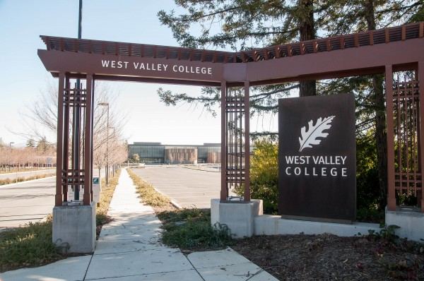 West Valley College sign