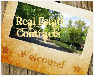 Real estate contracts welcome