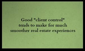 Client control