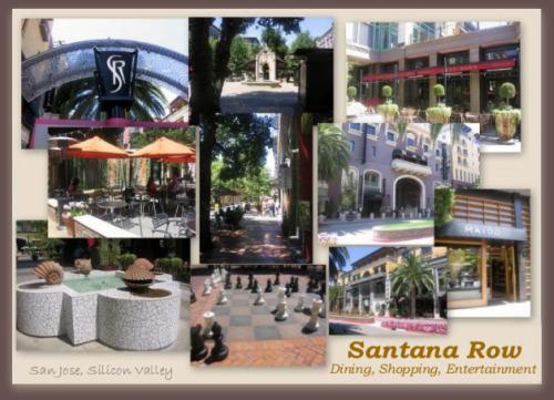 Santana Row Collage
