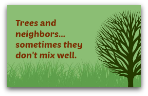 Trees and neighbors