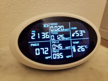 Air quality monitor - one way to know if you have a healthy house