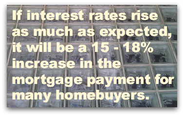 If interest rates rise as much