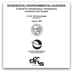 Residential Environmental Hazards Booklet - State of California