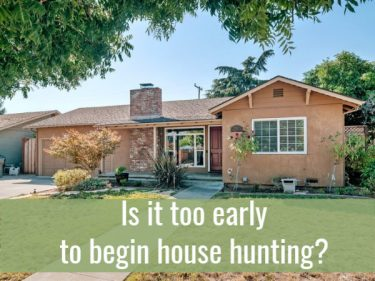 Photo of ranch style house with the question - Is it too early to begin house hunting