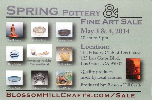 2014 Spring Pottery and Fine Art Sale