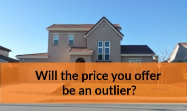Will the price you offer be an outlier