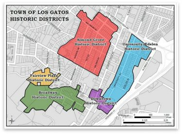 Town of Los Gatos Historic Districts
