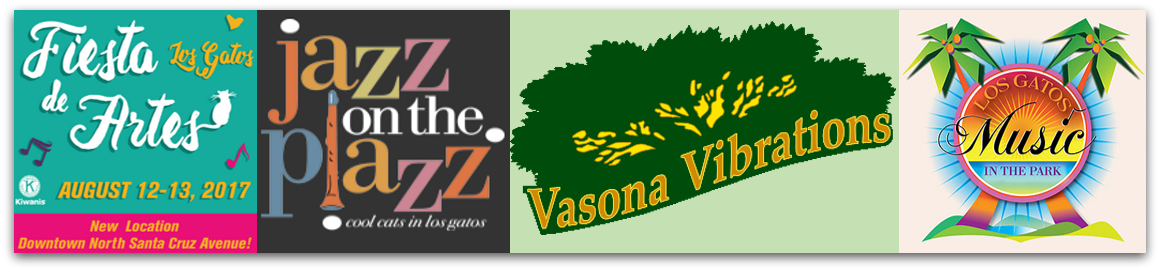 fest list 2017 - Free concerts in Los Gatos this summer: Vasona Vibrations, Music in the Park, Jazz on the Plazz