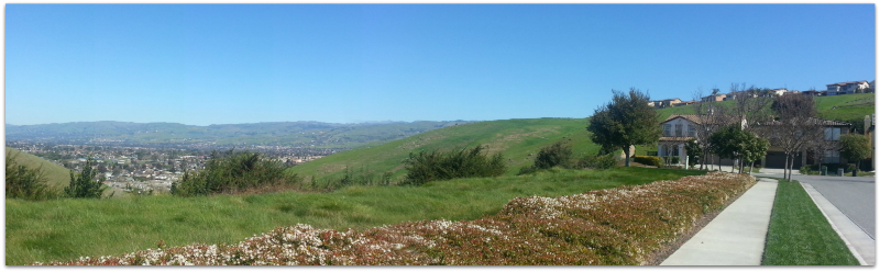 The Ranch on Silver Creek in the Evergreen area of San Jose: beautiful views