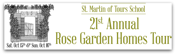 21st Annual Rose Garden Homes Tour Oct 15-16 2016