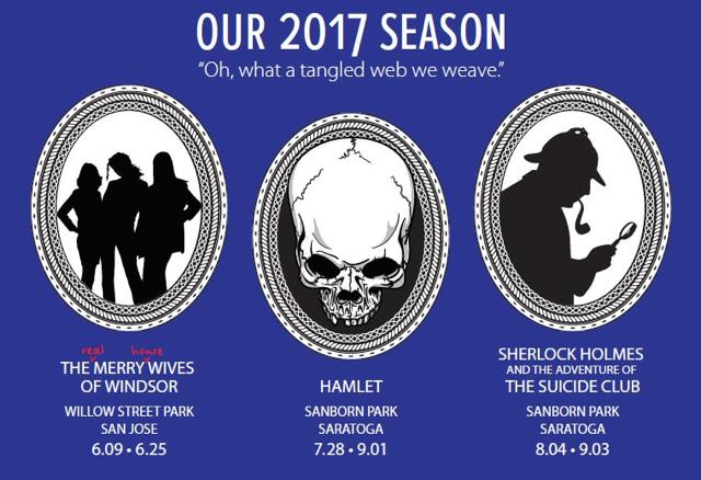 SVS 2017 - Silicon Valley Shakespeare Summer Set in Saratoga