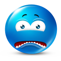 Icon of a frowny face