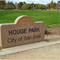 Houge Park on Cambrian area of San Jose