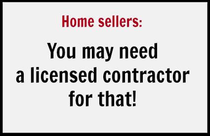 Licensed contractor needed
