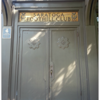 Saratoga Foothill Club door