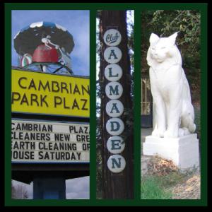 Cambrian, Almaden, and Los Gatos