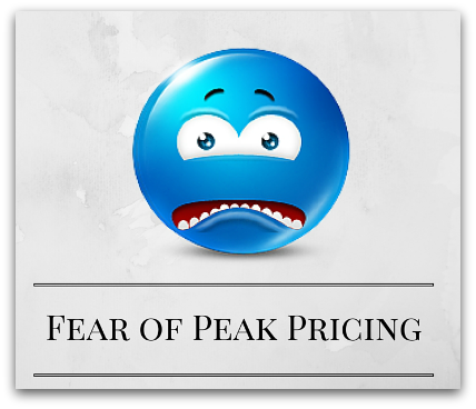 Fear of Peak Pricing