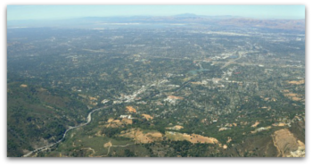 Los Gatos - aerial view