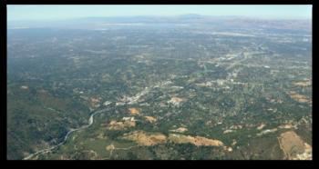 Los Gatos - aerial view