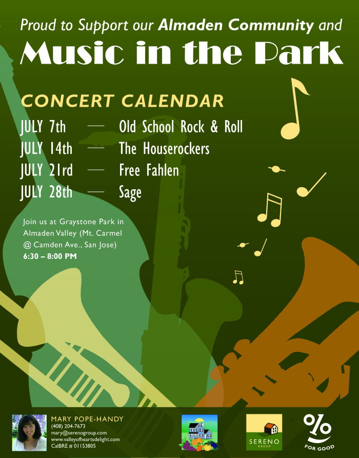 Almaden Music in the Park 2016 corrected times 700 x 893 px