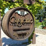 Guglielmo Winery wine barrel sign