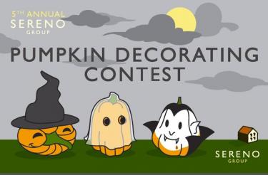 5th Annual Sereno Group Pumpkin Decorating Contest 2013