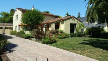 Spanish style house in the Rose Garden Neighborhood