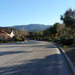 Oak Canyon street along the Guadalupe Creek (Custom)