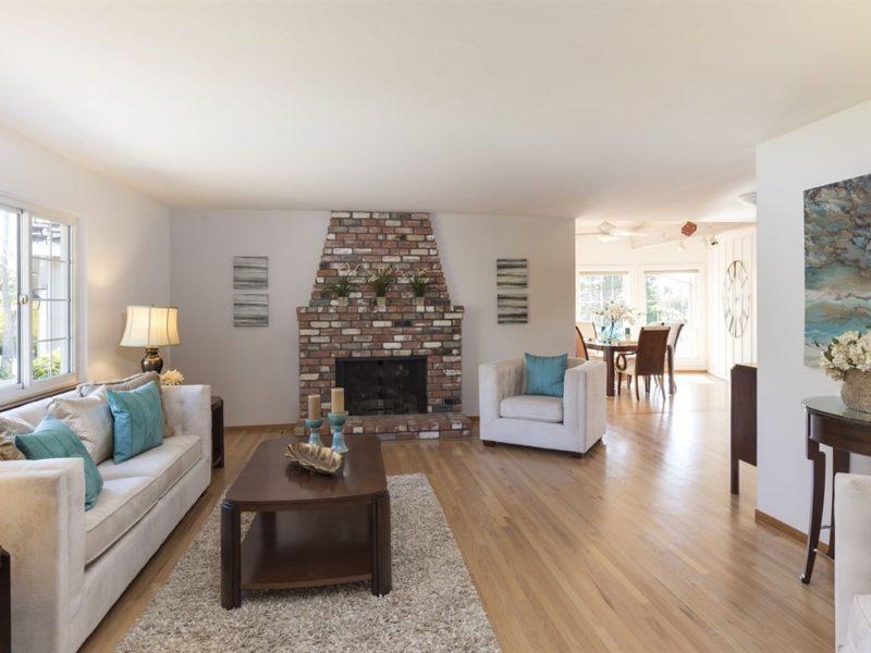 Living Room - 18632 Woodbank Wy, Saratoga CA 95070