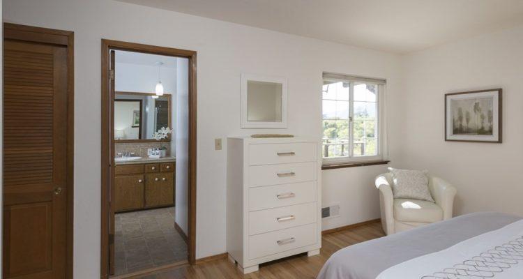 Master bedroom on Woodbank Wy, Saratoga