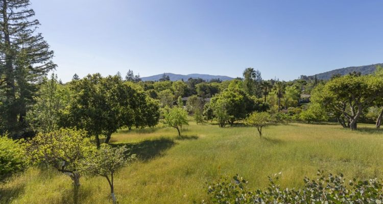 A peaceful oasis in Silicon Valley along a quiet cul-de-sac in Saratoga